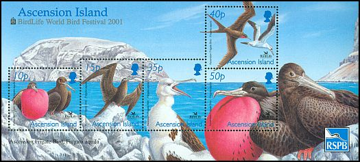 Cl: Masked Booby (Sula dactylatra)(Repeat for this country) (I do not have this stamp)  SG 838 (2001)  [8/9]