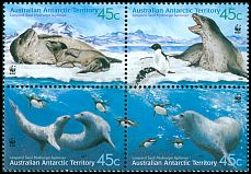 Cl: Adelie Penguin (Pygoscelis adeliae)(Repeat for this country)  SG 152-5 (2001) 700