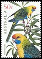 Cl: Green Rosella (Platycercus caledonicus) SG 2486 (2005) 110 [3/40]