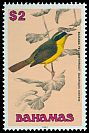 Cl: Bahama Yellowthroat (Geothlypis rostrata) SG 905 (1991) 600
