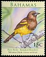 Cl: Greater Antillean Oriole (Icterus dominicensis northropi)(Repeat for this country)  SG 1528 (2009) 65 [6/5]