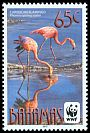 Cl: Caribbean Flamingo (Phoenicopterus ruber)(Repeat for this country) (I do not have this stamp)  SG 1618 (2012)  [7/49]