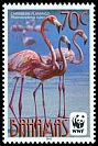 Cl: Caribbean Flamingo (Phoenicopterus ruber)(Repeat for this country) (I do not have this stamp)  SG 1619 (2012)  [7/49]