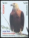 Cl: Pallas' Fish-Eagle (Haliaeetus leucoryphus)(Repeat for this country)  SG 1333 (2018)  [11/44]