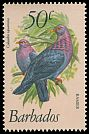 Cl: Scaly-naped Pigeon (Patagioenas squamosa) <<Ramier>>  SG 633 (1979) 150