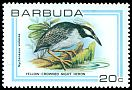 Cl: Yellow-crowned Night-Heron (Nyctanassa violacea) SG 509 (1980) 80