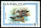 Cl: Blue-winged Teal (Anas discors) SG 514 (1980) 125