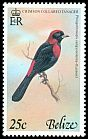 Cl: Crimson-collared Tanager (Ramphocelus sanguinolentus) SG 468 (1978) 80