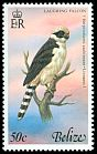 Cl: Laughing Falcon (Herpetotheres cachinnans) SG 492 (1979) 90
