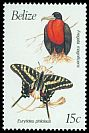 Cl: Magnificent Frigatebird (Fregata magnificens)(Repeat for this country)  SG 1069A (1990) 80