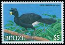 Cl: Great Curassow (Crax rubra) SG 1367 (2009) 650 [6/16]
