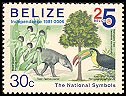 Cl: Keel-billed Toucan (Ramphastos sulfuratus)(Repeat for this country)  SG 1338 (2006) 100 [5/36]