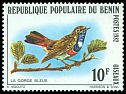 Cl: Bluethroat (Luscinia svecica) <<La Gorge bleue>> (Out of range)  SG 862 (1982) 100