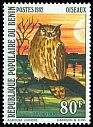 Cl: Eurasian Eagle-Owl (Bubo bubo) <<Hibou grand duc>> (Out of range)  SG 867 (1982) 550
