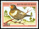 Cl: Ring Ouzel (Turdus torquatus)(Out of range)  SG 1654 (1997) 100
