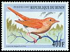 Cl: Common Nightingale (Luscinia megarhynchos) SG 1657 (1997) 210