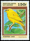 Cl: Saffron Finch (Sicalis flaveola)(Out of range)  SG 1773 (1999) 70
