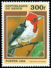 Cl: Red-crested Cardinal (Paroaria coronata)(Out of range)  SG 1776 (1999) 150