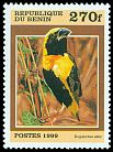 Cl: Yellow-crowned Bishop (Euplectes afer) SG 1775 (1999) 120