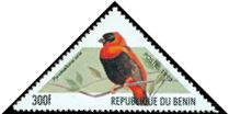 Cl: Red Bishop (Euplectes orix)(Repeat for this country)  SG 1872 (1999)