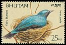 Cl: Asian Fairy-bluebird (Irena puella) SG 824e (1989)