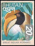 Cl: Great Hornbill (Buceros bicornis)(Repeat for this country)  SG 1512 (1999) 90