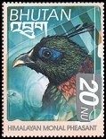 Cl: Himalayan Monal (Lophophorus impejanus)(Repeat for this country)  SG 1516 (1999) 90