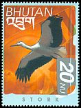 Cl: White Stork (Ciconia ciconia)(Out of range)  SG 1513 (1999) 90