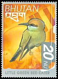 Cl: Green Bee-eater (Merops orientalis) SG 1518 (1999) 90