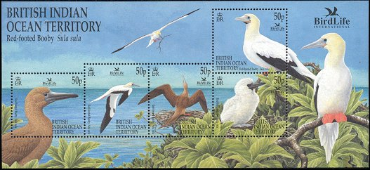 Cl: Red-footed Booby (Sula sula)(Repeat for this country)  SG 266 (2002) 900 [3/2]