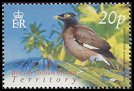 Cl: Common Myna (Acridotheres tristis)(Repeat for this country)  SG 298 (2004) 70 [3/2]