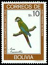Cl: Golden-collared Macaw (Primolius auricollis) SG 1057 (1981) 160