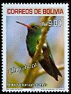 Cl: Glittering-bellied Emerald (Chlorostilbon aureoventris) SG 1778 (2007) 500 [4/26]