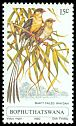 Cl: Shaft-tailed Whydah (Vidua regia) SG 62 (1980) 40