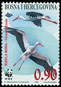 Cl: White Stork (Ciconia ciconia)(Repeat for this country)  SG 577 (1998) 140