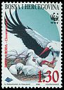 Cl: White Stork (Ciconia ciconia)(Repeat for this country)  SG 579 (1998) 160