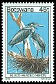 Cl: Black-headed Heron (Ardea melanocephala) SG 423 (1978) 100