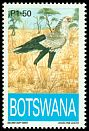 Cl: Secretarybird (Sagittarius serpentarius)(Repeat for this country)  SG 779 (1993) 250