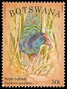 Cl: Purple Swamphen (Porphyrio porphyrio) SG 1194 (2014)  [9/3]