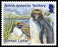 Cl: Macaroni Penguin (Eudyptes chrysolophus)(Repeat for this country) (I do not have this stamp)  SG 639 (2014)