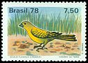 Cl: Saffron Finch (Sicalis flaveola)(Repeat for this country)  SG 1710 (1978) 230