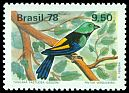 Cl: Seven-coloured Tanager (Tangara fastuosa) SG 1712 (1978) 275