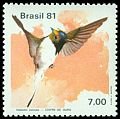 Cl: Horned Sungem (Heliactin bilopha) <<Chifre-de-ouro>>  SG 1896 (1981) 170