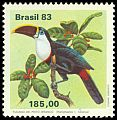 Cl: Red-billed Toucan (Ramphastos tucanus) <<Tucano-de-peito-branco>>  SG 2016 (1983) 400