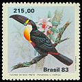 Cl: Channel-billed Toucan (Ramphastos vitellinus) <<Tucano-de-bico-preto>>  SG 2018 (1983) 450