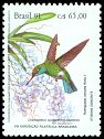 Cl: Glittering-bellied Emerald (Chlorostilbon aureoventris) SG 2501 (1991) 70