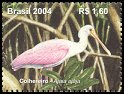 Cl: Roseate Spoonbill (Platalea ajaja) <<Colhereiro>> (Repeat for this country)  SG 3388a (2004) 260 [3/11]
