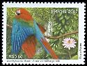 Cl: Red-and-green Macaw (Ara chloroptera) <<Arara-vermelha-grande>>  SG 3512 (2007) 100 [4/45]