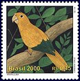 Cl: Golden Parakeet (Guarouba guarouba) SG 3088 (2000) 130