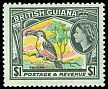 Cl: Channel-billed Toucan (Ramphastos vitellinus)(Repeat for this country)  SG 364 (1954) 700